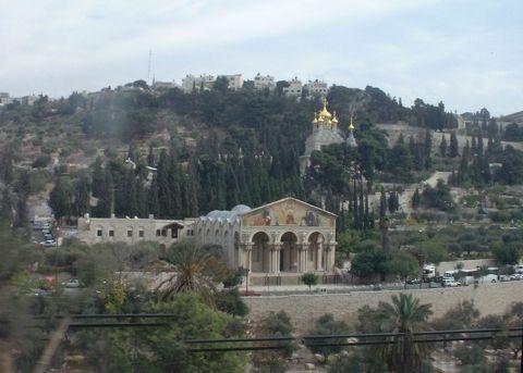Mount of Olives and Gethsemane